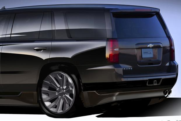 2015 Chevrolet Suburban and Tahoe Concepts: SEMA Show ...