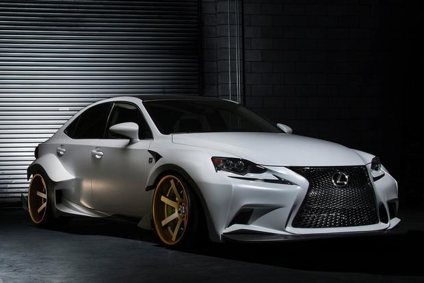 2014 Lexus IS 350 deviantART Challenge Winner: SEMA Show featured image large thumb0