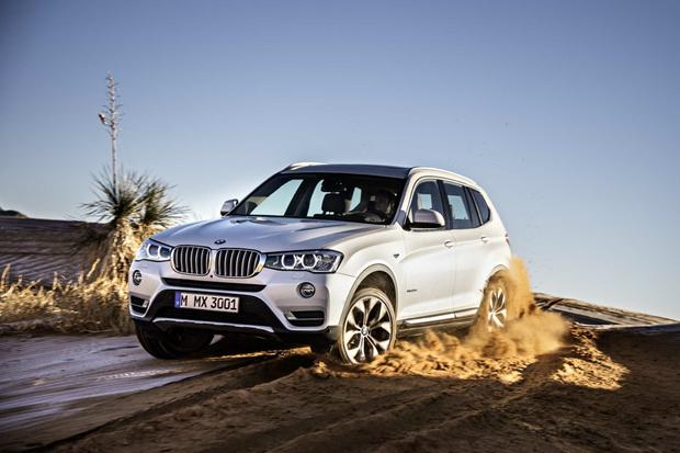 2015 BMW X3: Chicago Auto Show featured image large thumb0