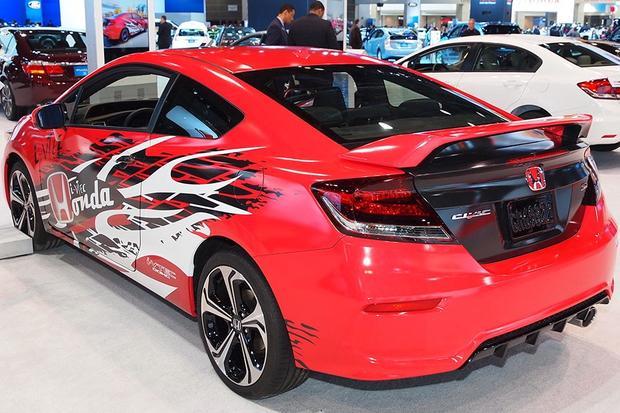 2014 Honda Civic Si Debuts on Xbox: Chicago Auto Show