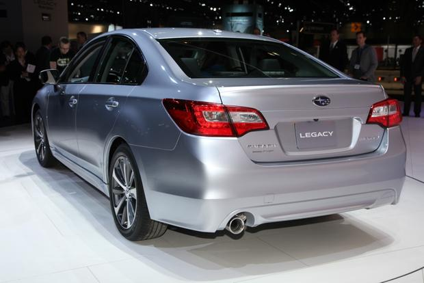 2015 Subaru Legacy: Chicago Auto Show featured image large thumb0