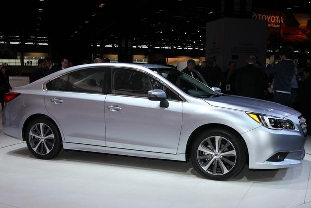 2015 Subaru Legacy: Chicago Auto Show featured image large thumb2