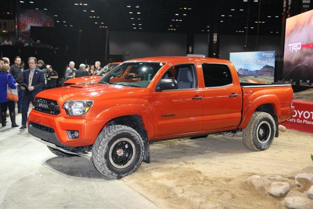 2015 Toyota Tacoma, Tundra and 4Runner TRD Pro Series: Chicago Auto Show featured image large thumb7