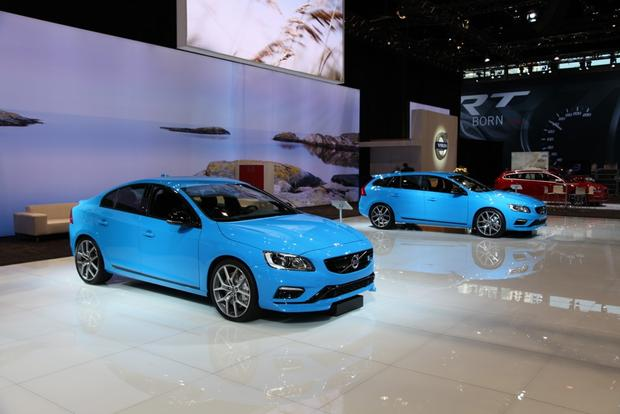 2015 Volvo S60 and V60 Polestar: Chicago Auto Show featured image large thumb0