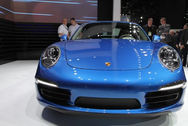 2014 Porsche 911 Targa: Detroit Auto Show