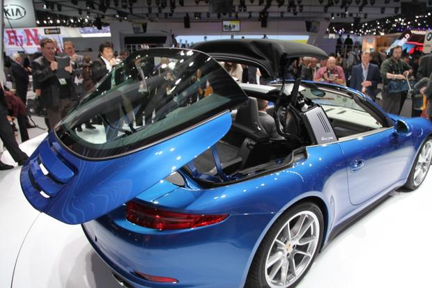 2014 Porsche 911 Targa: Detroit Auto Show featured image large thumb2