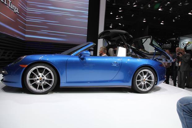 2014 Porsche 911 Targa: Detroit Auto Show featured image large thumb4