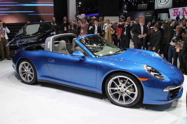 2014 Porsche 911 Targa: Detroit Auto Show featured image large thumb5