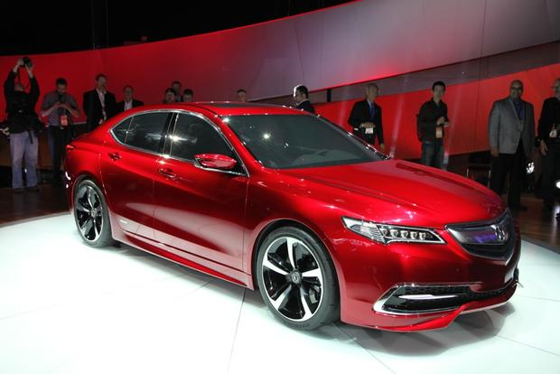 Acura TLX Prototype: Detroit Auto Show featured image large thumb0
