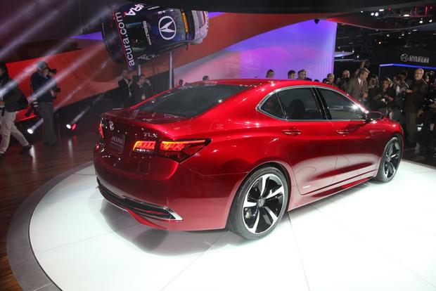 Acura TLX Prototype: Detroit Auto Show featured image large thumb2