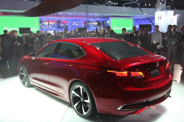 Acura TLX Prototype: Detroit Auto Show featured image large thumb3