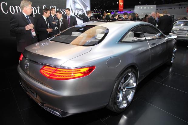 Mercedes-Benz Concept S-Class Coupe: Detroit Auto Show featured image large thumb0