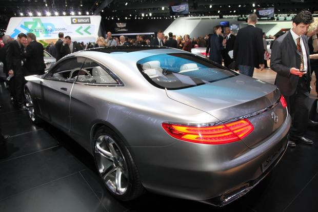 Mercedes-Benz Concept S-Class Coupe: Detroit Auto Show featured image large thumb4