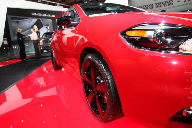 2014 Dodge Dart Blacktop: Detroit Auto Show featured image large thumb4