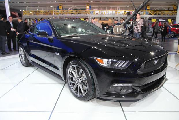 2015 Ford Mustang: Detroit Auto Show featured image large thumb1