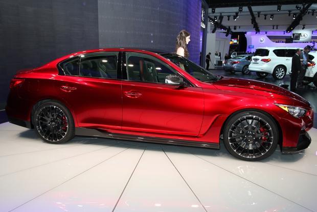 Infiniti Detroit Auto Show