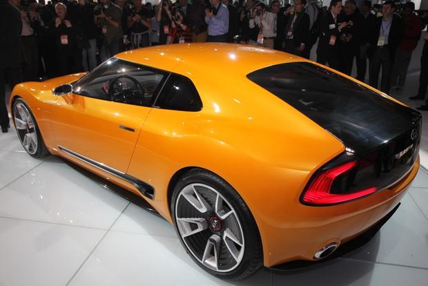 Kia GT4 Stinger Concept: Detroit Auto Show - Autotrader
