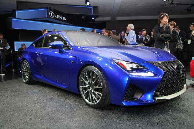 2015 Lexus RC F: Detroit Auto Show featured image large thumb7
