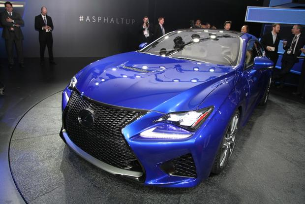 2015 Lexus RC F: Detroit Auto Show featured image large thumb1