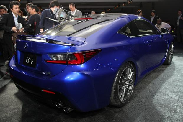 2015 Lexus RC F: Detroit Auto Show featured image large thumb0