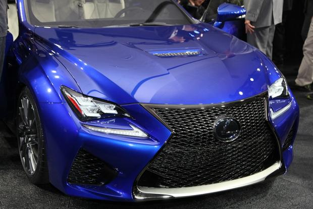 2015 Lexus RC F: Detroit Auto Show featured image large thumb2