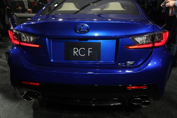 2015 Lexus RC F: Detroit Auto Show featured image large thumb6