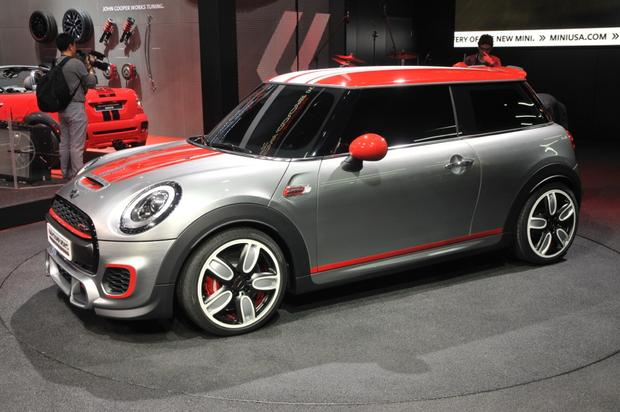 MINI John Cooper Works Concept: Detroit Auto Show featured image large thumb0
