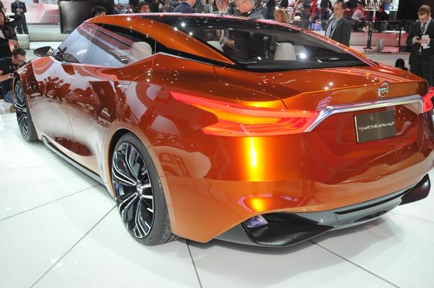 Nissan Sport Sedan Concept: Detroit Auto Show featured image large thumb4
