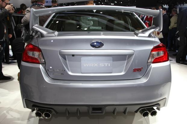 2015 Subaru WRX STI: Detroit Auto Show featured image large thumb0