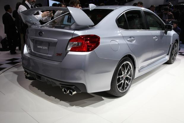 2015 Subaru WRX STI: Detroit Auto Show featured image large thumb1