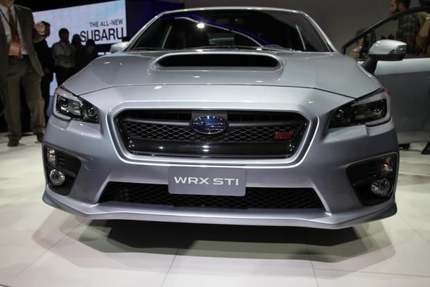 2015 Subaru WRX STI: Detroit Auto Show featured image large thumb2
