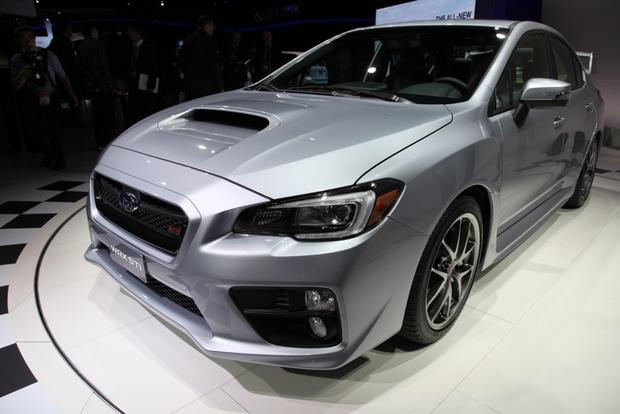 2015 Subaru WRX STI: Detroit Auto Show featured image large thumb3