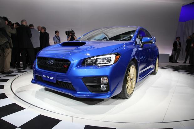 2015 Subaru WRX STI: Detroit Auto Show featured image large thumb6