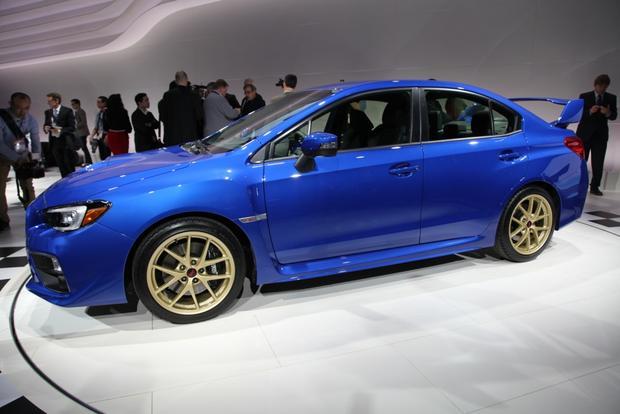 2015 Subaru WRX STI: Detroit Auto Show featured image large thumb7