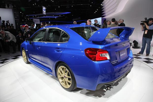 2015 Subaru WRX STI: Detroit Auto Show featured image large thumb8
