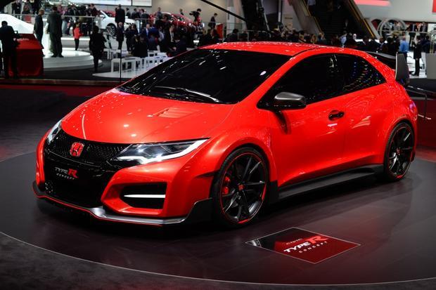 Honda Civic Type R Concept Geneva Auto Show Autotrader