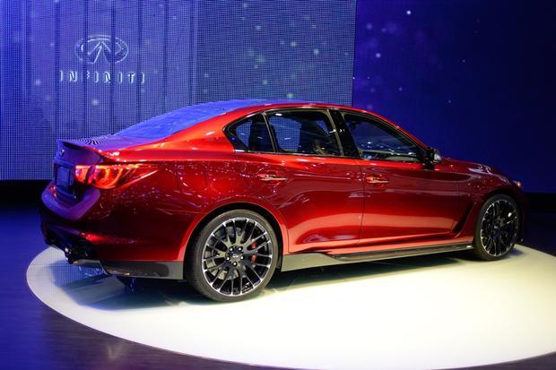 Infiniti Q50 Eau Rouge Concept: Geneva Auto Show