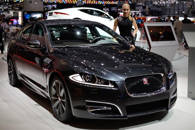Jaguar XF R-Sport: Geneva Auto Show featured image large thumb1