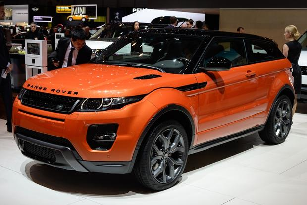 2015 land rover range rover evoque autobiography geneva auto show autotrader. Black Bedroom Furniture Sets. Home Design Ideas