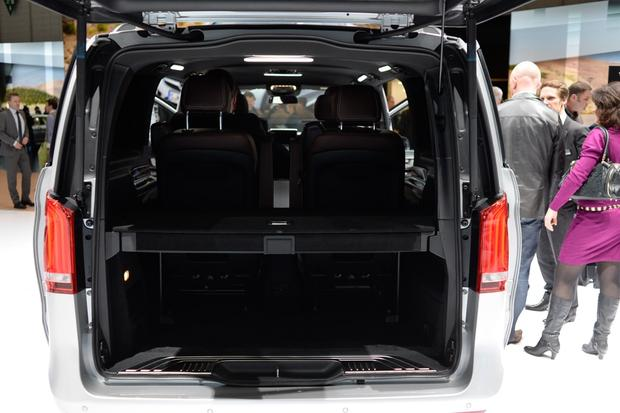 Mercedes-Benz V-Class: Geneva Auto Show - Autotrader