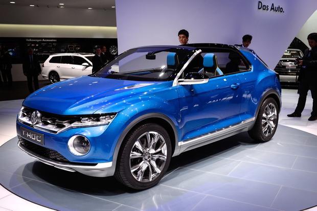 Volkswagen T-ROC Concept: Geneva Auto Show - Autotrader