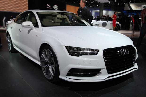 2016 audi a6 and 2016 audi a7 la auto show autotrader. Black Bedroom Furniture Sets. Home Design Ideas