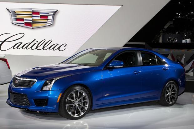 Cadillac Cts V Autotrader >> 2016 Cadillac ATS-V: LA Auto Show - Autotrader