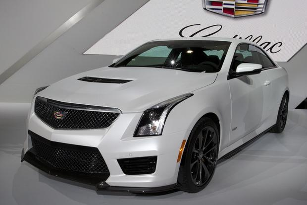 2016 cadillac ats v la auto show autotrader. Black Bedroom Furniture Sets. Home Design Ideas