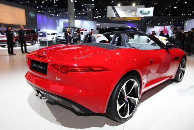 2016 jaguar f type la auto show autotrader. Black Bedroom Furniture Sets. Home Design Ideas