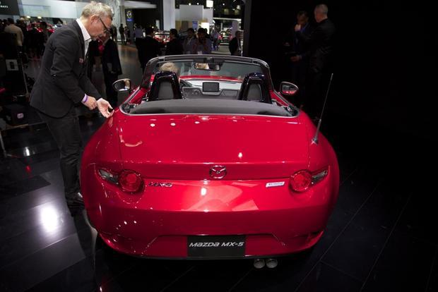 2016 Mazda MX-5 Miata: LA Auto Show