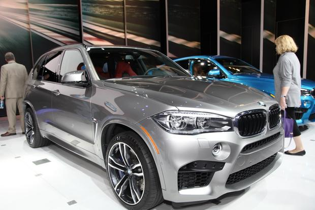 2015 bmw x5 m and 2015 bmw x6 m la auto show autotrader. Black Bedroom Furniture Sets. Home Design Ideas