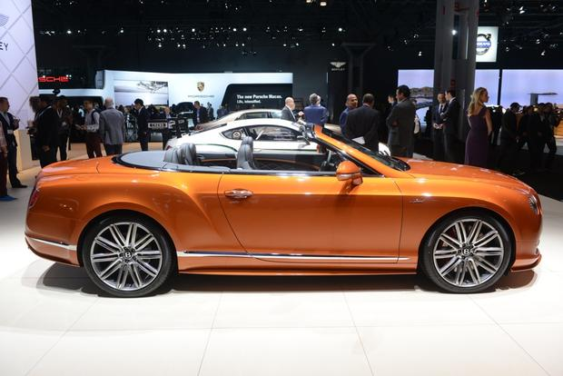 Bentley Flying Spur V8 and Continental GT Speed: New York Auto Show
