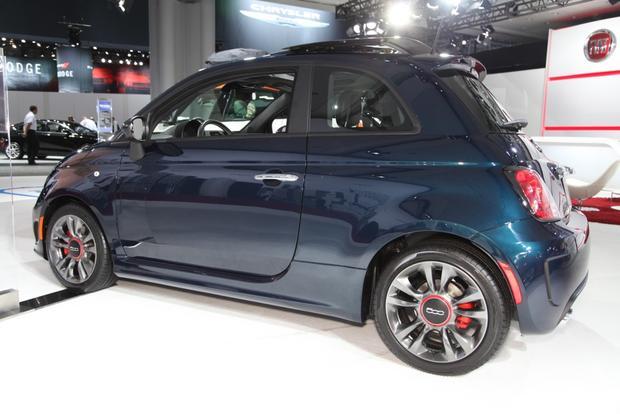 2015 Fiat 500 New York Auto Show Autotrader