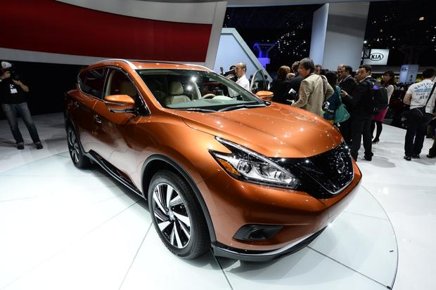 2015 Nissan Murano: New York Auto Show featured image large thumb1
